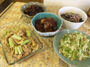 中国定番家庭料理クラス「麻婆茄子」ほか